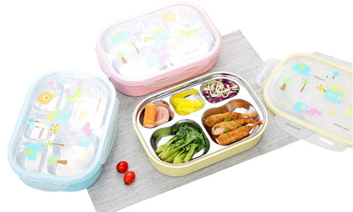 Multi-Compartment Lunch box