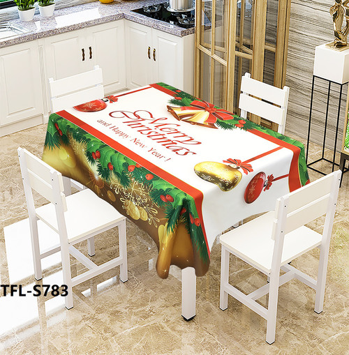 Christmas  Easy clean microfiber Tablecloth in Choice of Design and Size