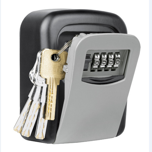 OUTDOOR HIGH SECURITY WALL MOUNTED KEY SAFE BOX