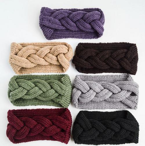 Knitted Ear Warmer Headband