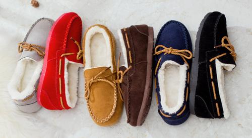 Women's Winter warm fauxFur Soft Sole Loafers