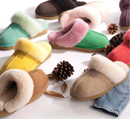 Unisex Extra Comfy Sheepskin Slippers