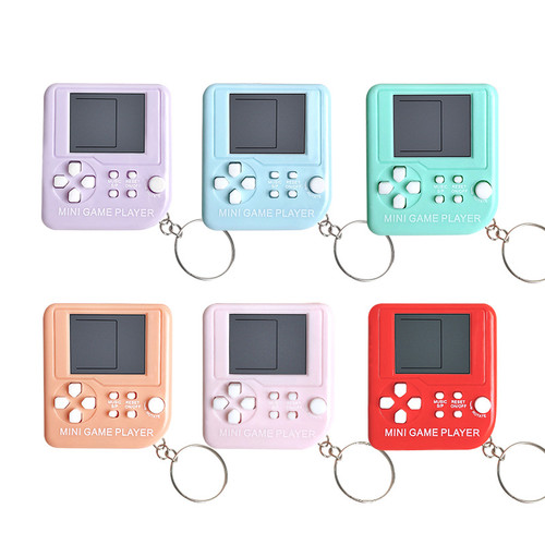 Mini Keychain Retro Game Console with 23 games built in