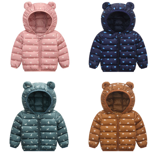 Light Weight Kids Winter Coat