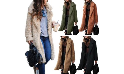 Teddy Fleece Winter long coat