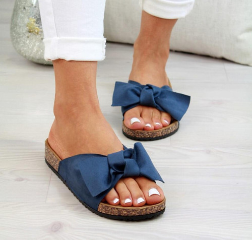 Bow Soft Comfy  Sandals
