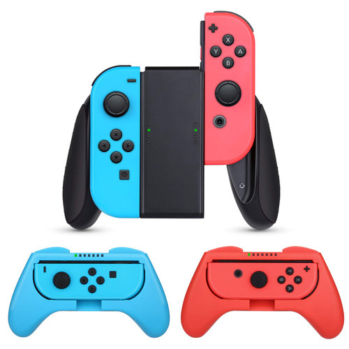Nintendo Switch  Compatible  3in1 Grip Set