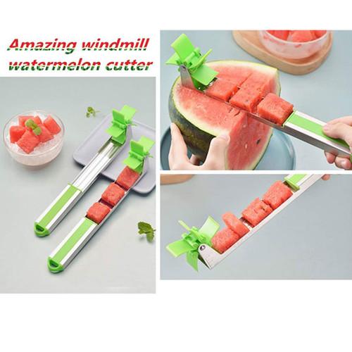 Windmill Shape Slicer for Watermelon Knife Cutter Creative