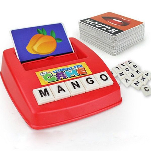 Word Learning Machine Puzzle Toy