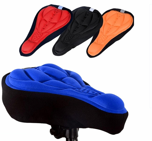3D Soft Saddle Pad Cushion Seat Cover for Bicycle