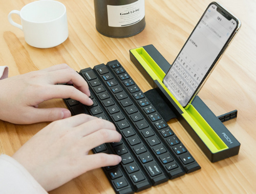 Bluetooth Mini portable folding keyboard for Smartphones and Tablet