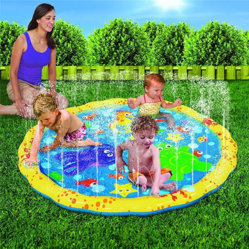 100cm Inflatable Sprinkler Splash Pad Play Mat