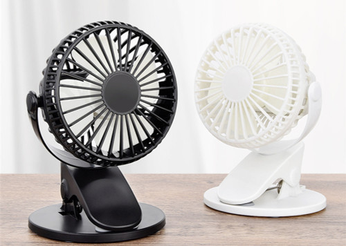 Portable and rechargable 360° Adjustable Mini Clip Fan
