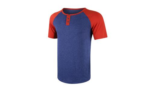 Summer short-sleeved T-shirts European and American men's clothing-LA