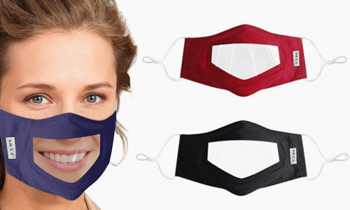 Visable Face Protection Mask