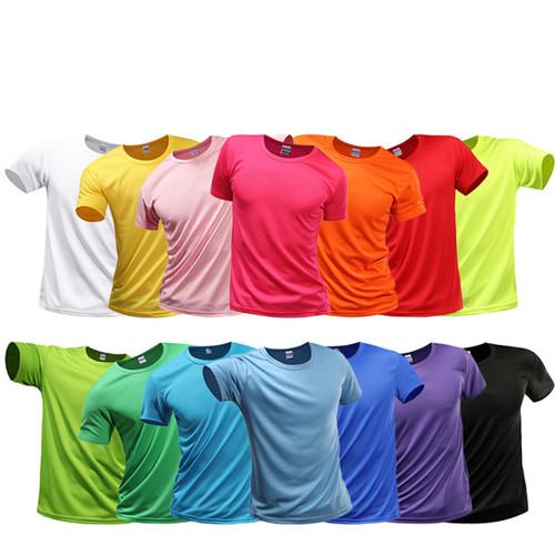 Solid color Versatile, quick drying performance T-shirt-LA