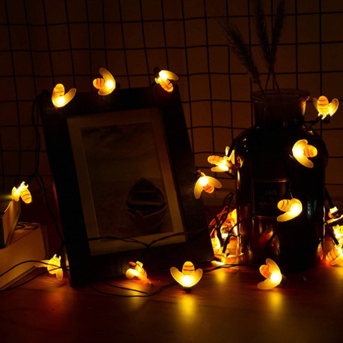 Little Bee Solar String Light 7 meters 50 lights