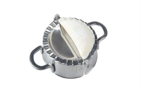 Stainless steel dumpling mold with dumpling skin mold