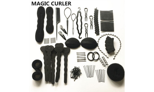 20pcsCurly hair bridal hair styling supplies tools