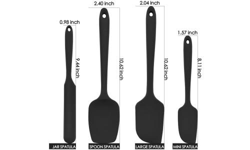 American one-piece silicone spatula four-piece jam spatula cream spatula