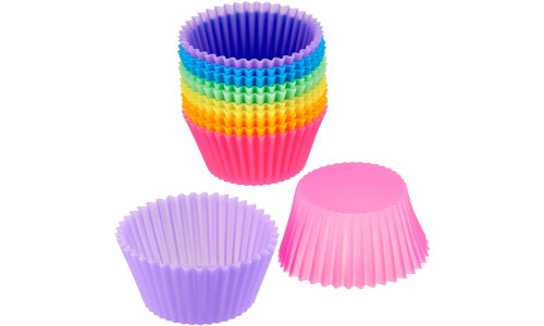 Silicone Muffin Cup Round Silicone Baking Cake Cup