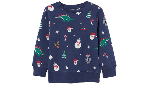 Children's Christmas cartoon cotton sweater-la