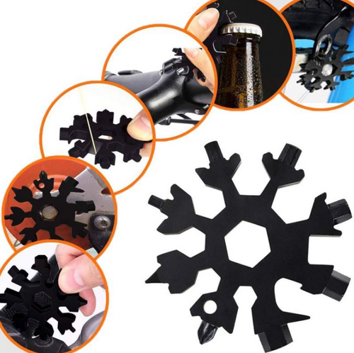 18 in 1 multi-funciton Stainless Snowflake Screwdriver