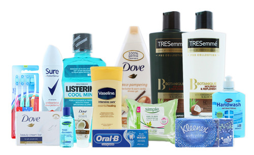 Toiletries bundle
