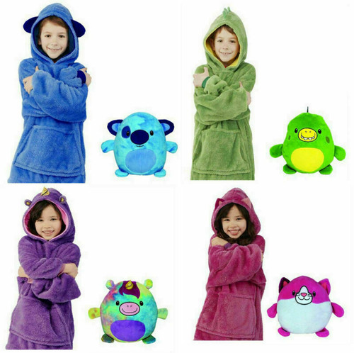 Cuddly 2in1 Winter Snuggle Hoodie and soft toy