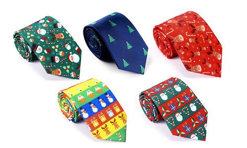 Festival Christmas Themed Tie