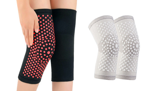 1 pair of Compression Self Heating massage Knee warmer