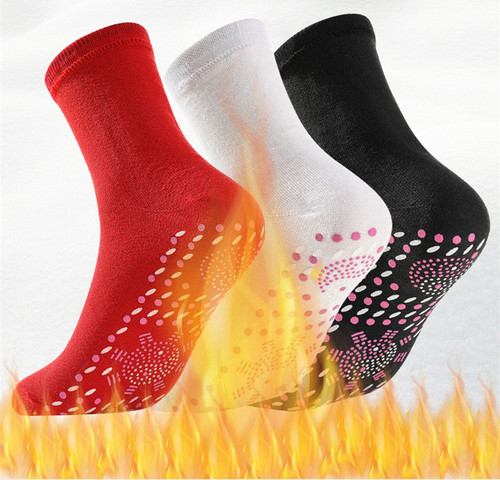 Acupoint Massage Self-Heating Therapy Socks