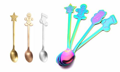 Christmas Novelty Spoon Set of 4