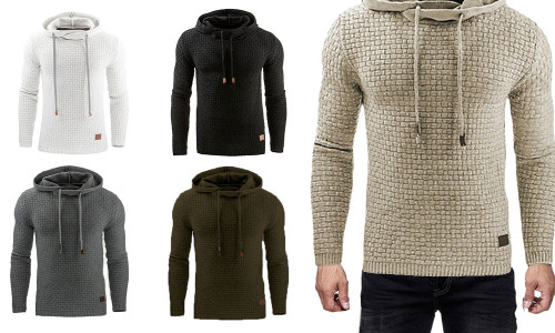 Winter pullover men Ethnic style sweater jackets hoodies