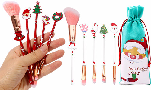 Christmas Makeup brush gift set