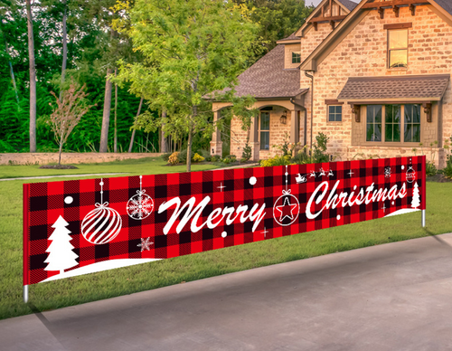 Extra large Christmas Festival Banner