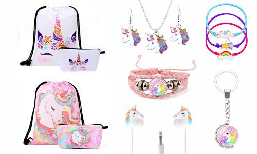 10pcs Kids Unicorn Gift Set