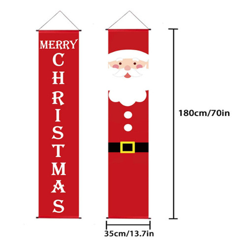 Christmas Festival Decoration Door Banner