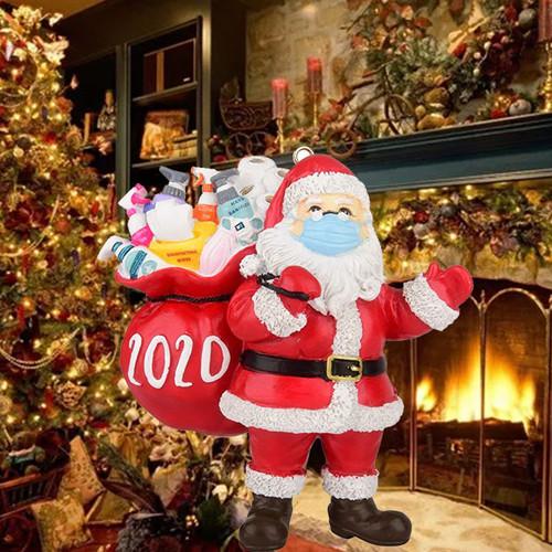 Hand Made Craft Christmas Decoration Ornament  Santa 2020