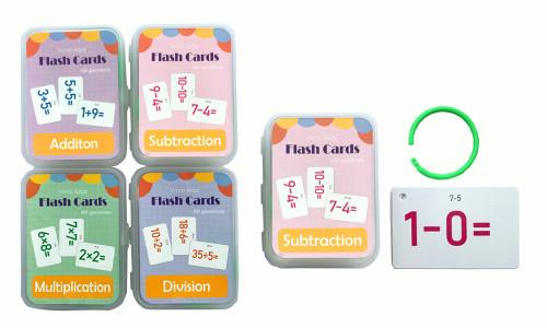 Math Master Flash Cards