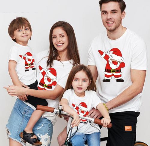 Family Santa T-shirt