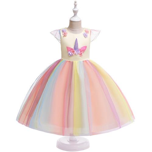 Magic Unicorn Evening Party Princess Dress