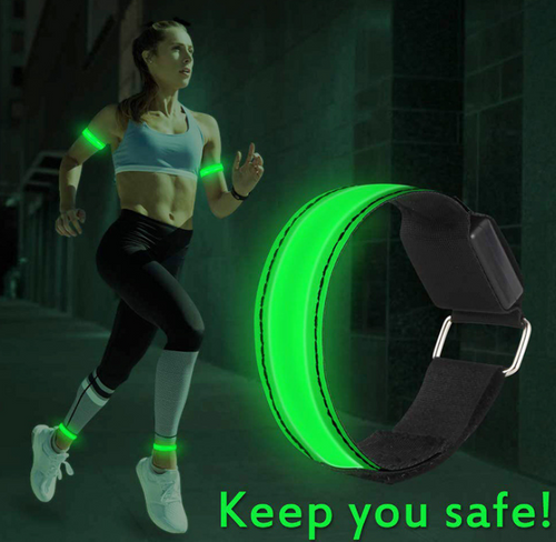 LED Flashing light up armband