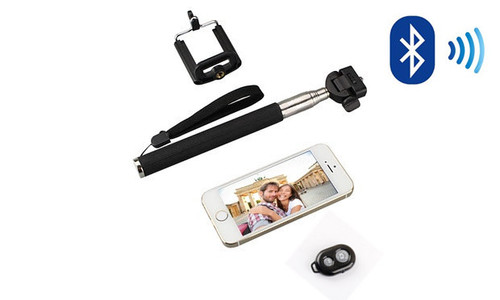 Selfie Stick & Bluetooth Remote
