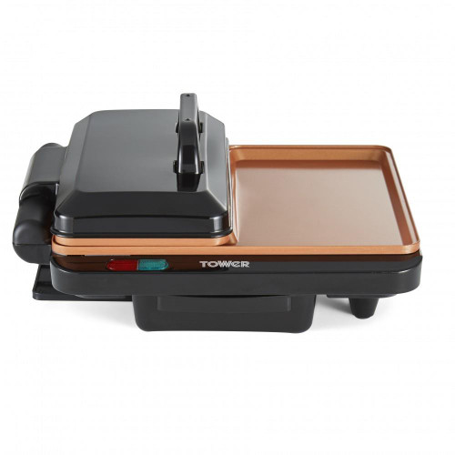 Tower Cerasure+ Copper XL 180 Grill and Griddle