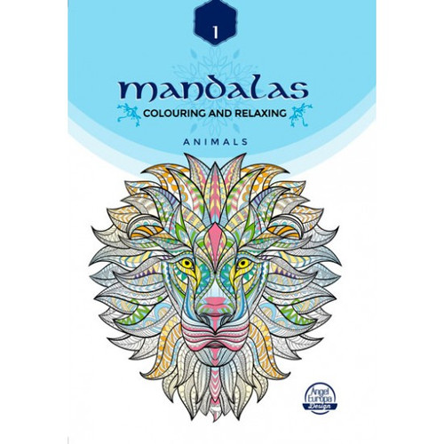 MANDALAS A4 colouring book Animal collection
