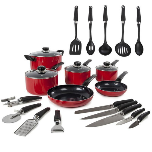 Equip 6 Piece Pan Set with 14 Tools