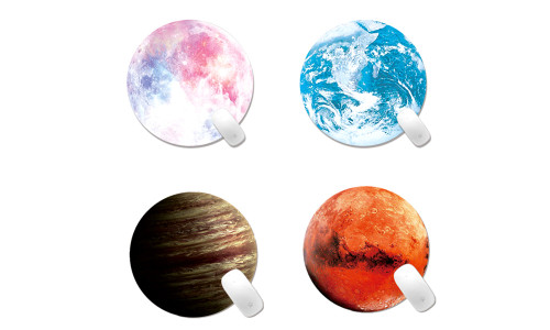 Planet Round Mouse Mat