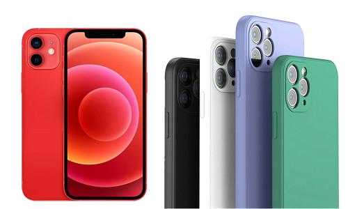 Liquid silicone slim phone case