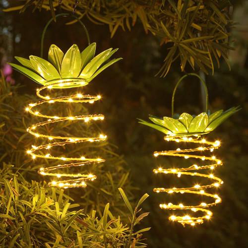 Pineapple Shape  Solar powered LED Outdoor Garden  Lamp